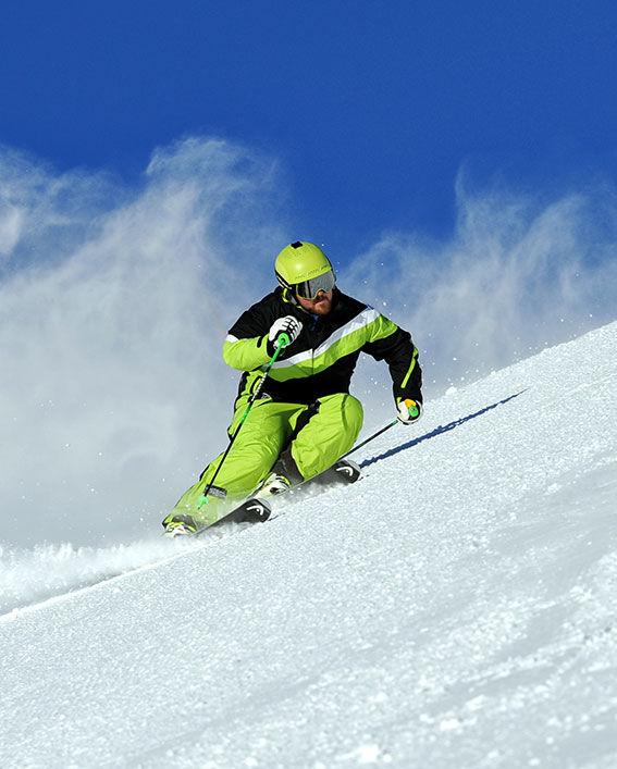 Skifahren in Samnaun, ©Foto Mario Curti