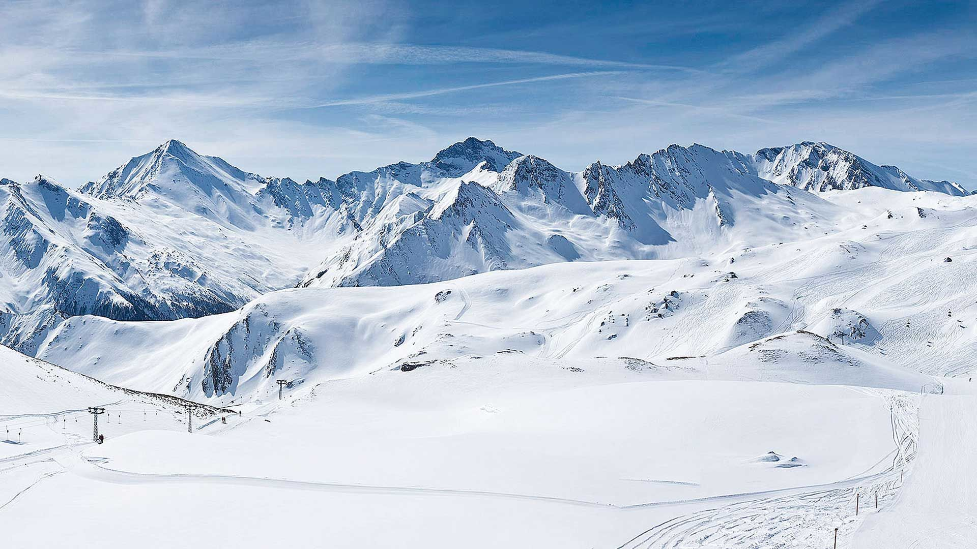 Alpen Life Style Mekka  Skiarena Samnaun-Ischgl