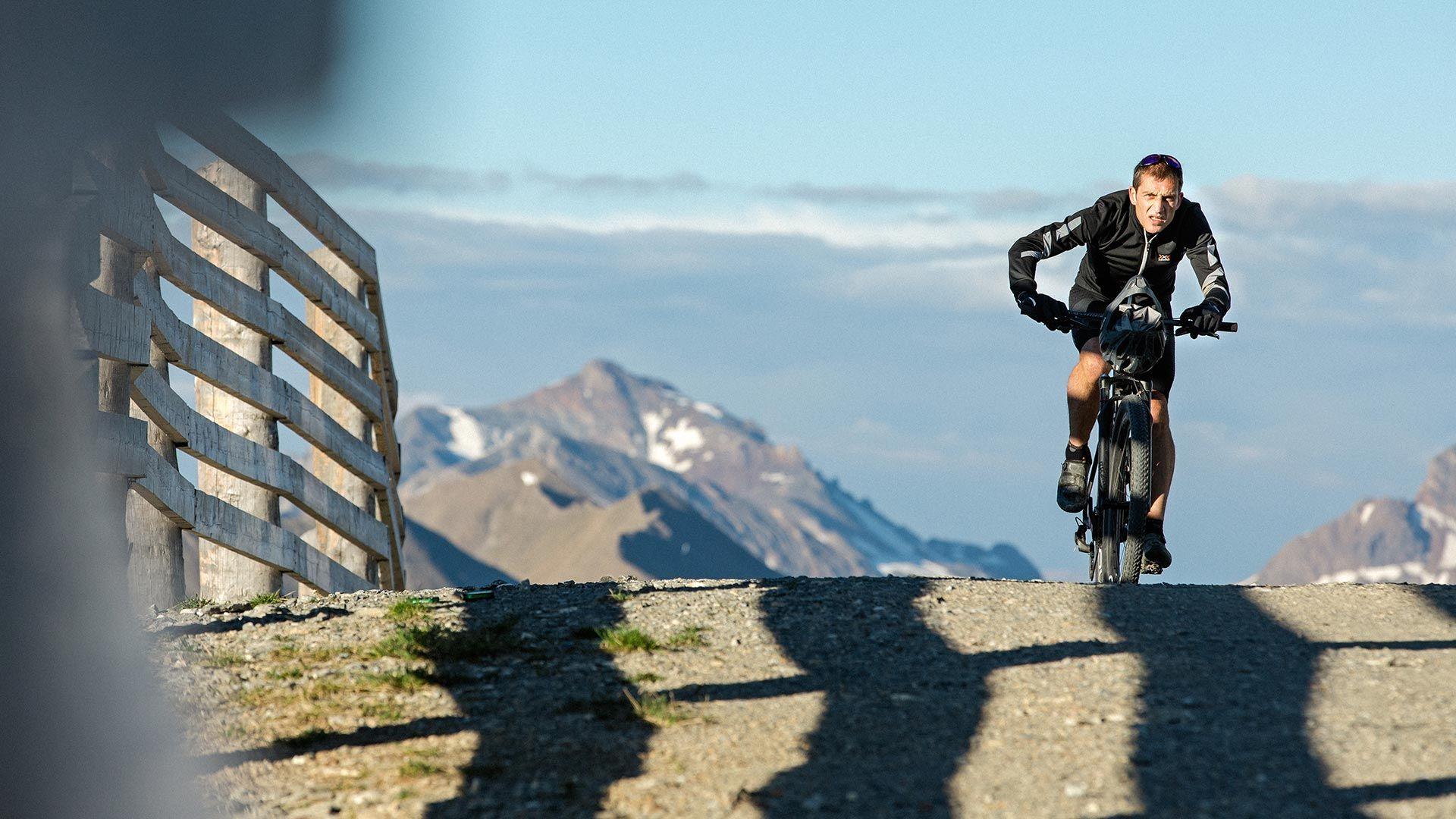 Mountainbike-Spaß pur Grenzen erfahren mit Patrick Heis