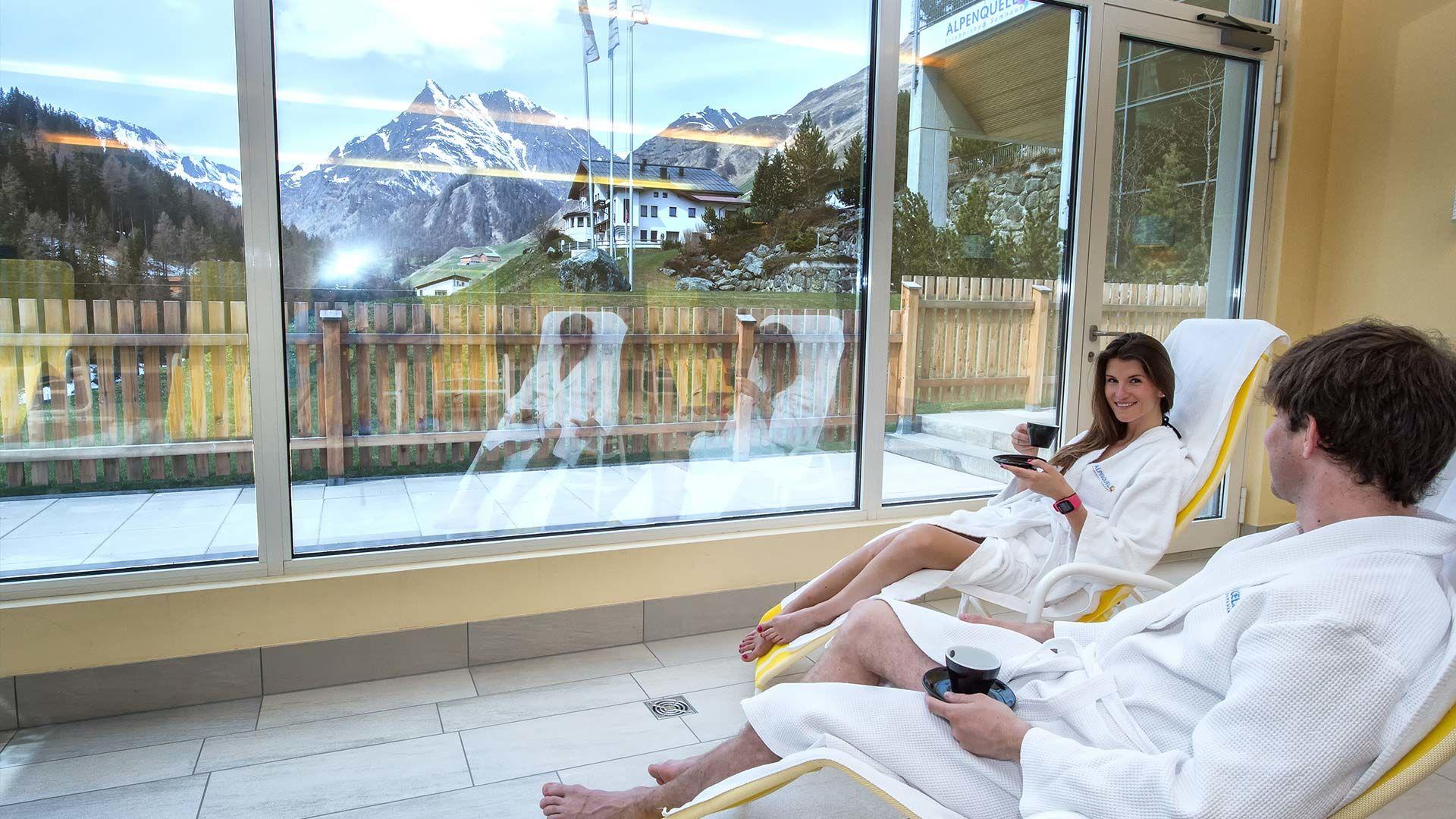 Badespaß und Sauna Alpenquell Erlebnisbad