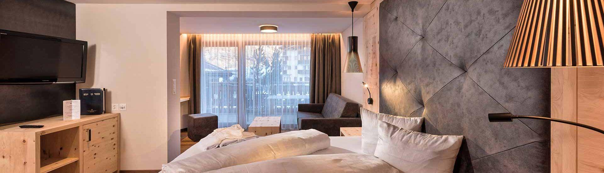 Zimmer und Suiten im Des Alpes