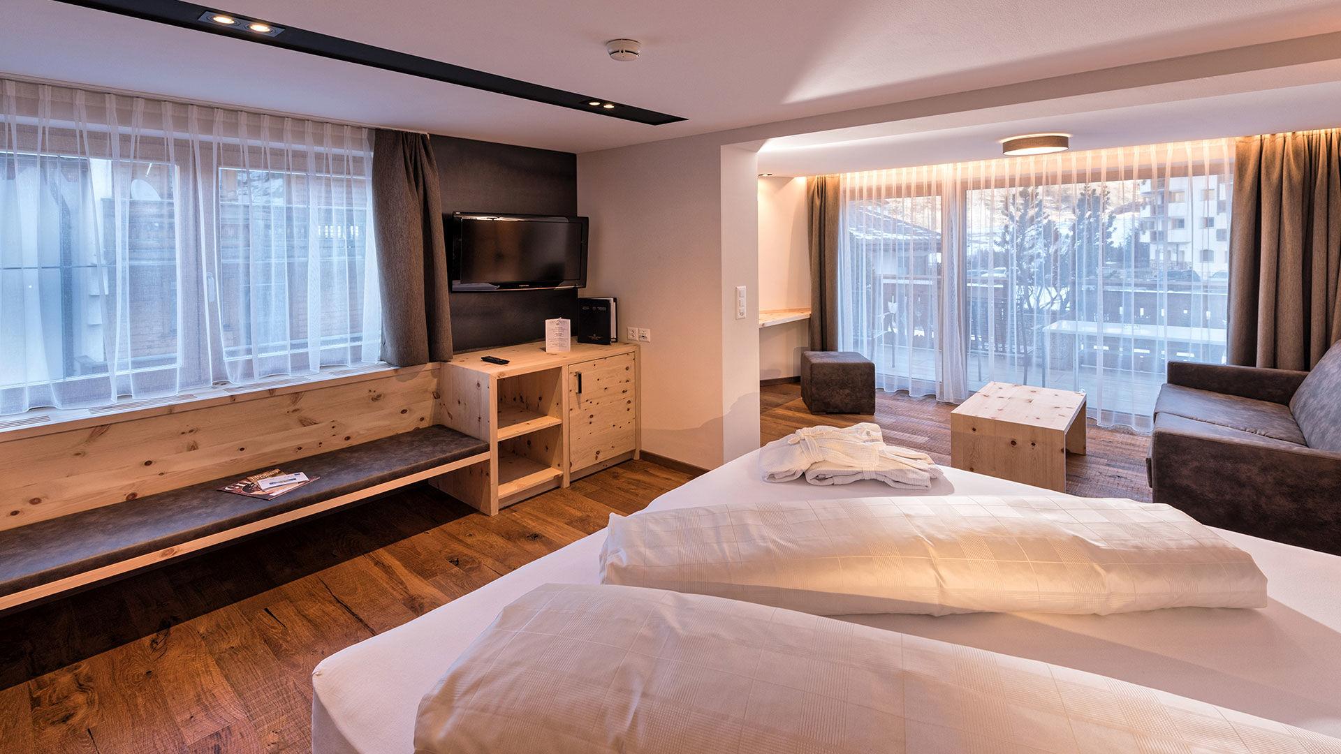 Junior Suiten Hotel Des Alpes in Samnaun ©Des Alpes