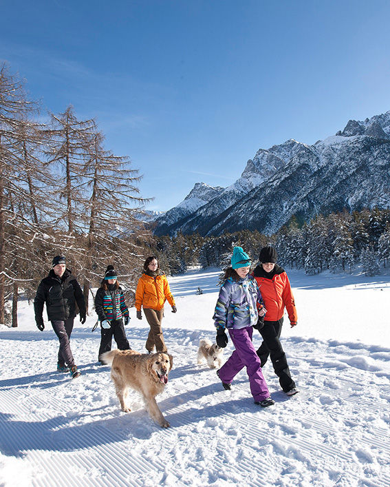 die Wintersonne geniessen, ©Andrea Badrutt