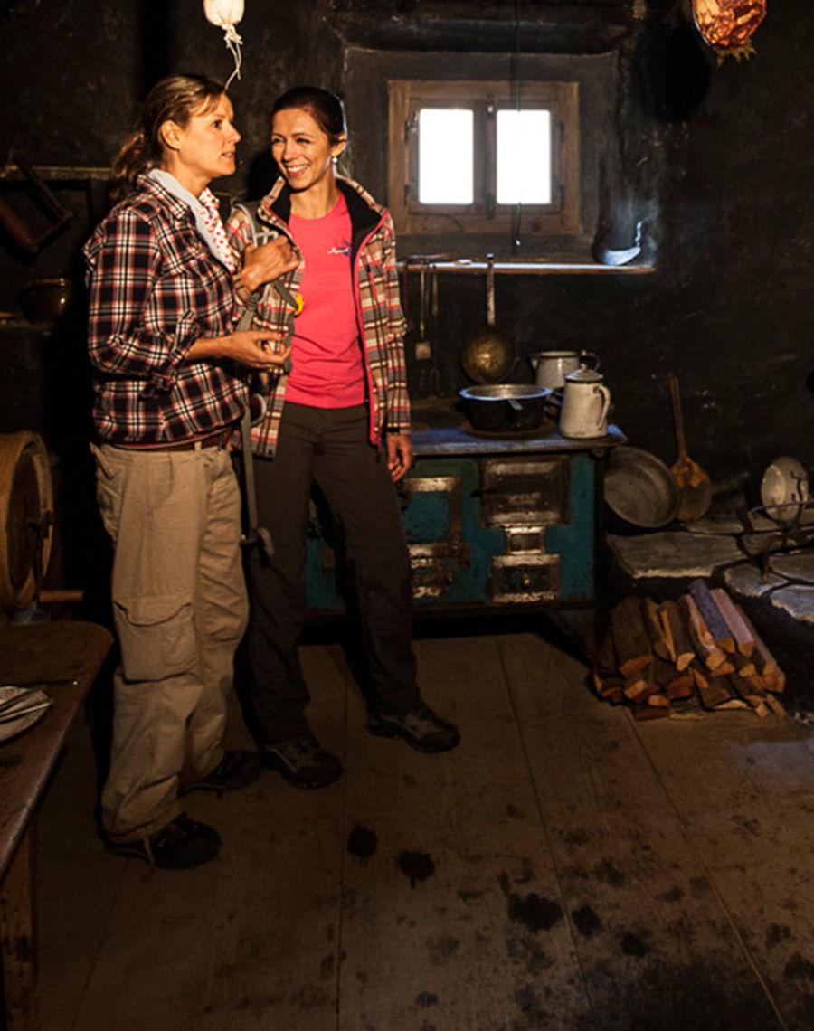 Das Talmuseum Im Talmuseum haben Sie die Möglichkeit, zu erleben, wie die Menschen in Samnaun vor hundert Jahren gelebt haben.