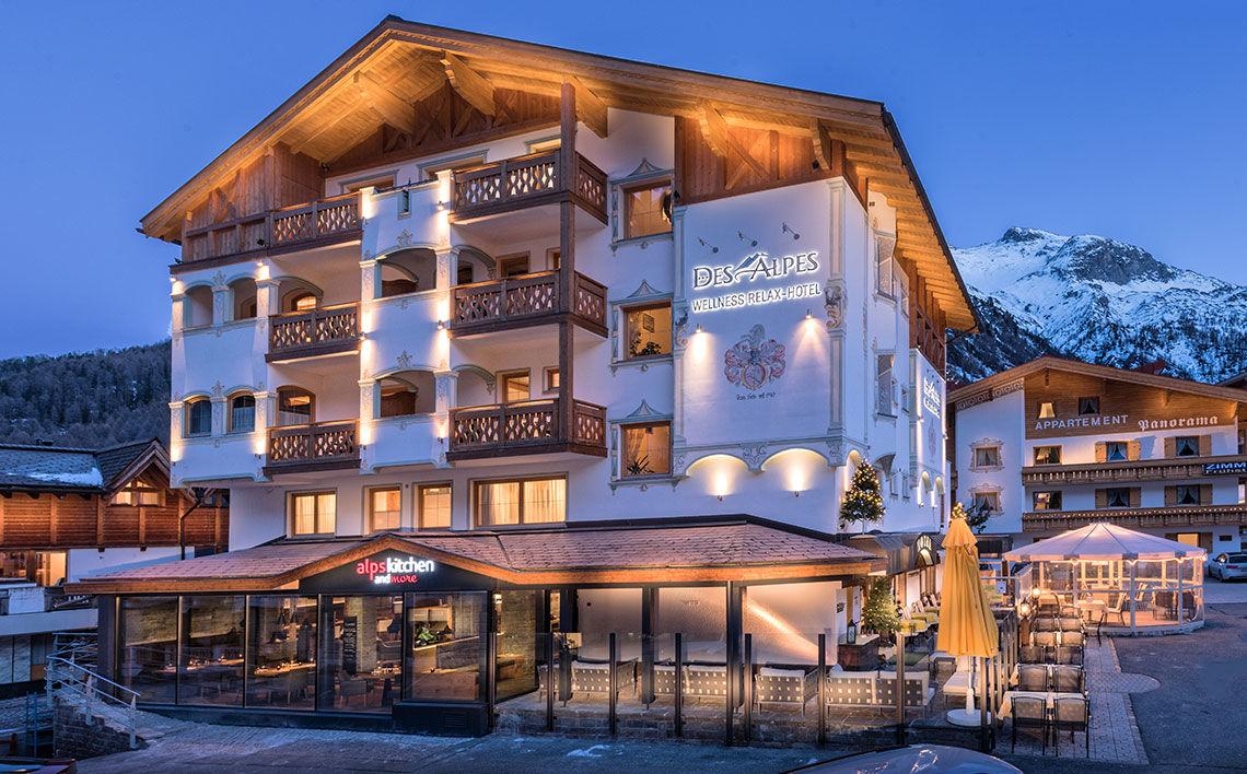 Hotel Des Alpes Winter, ©Des Alpes