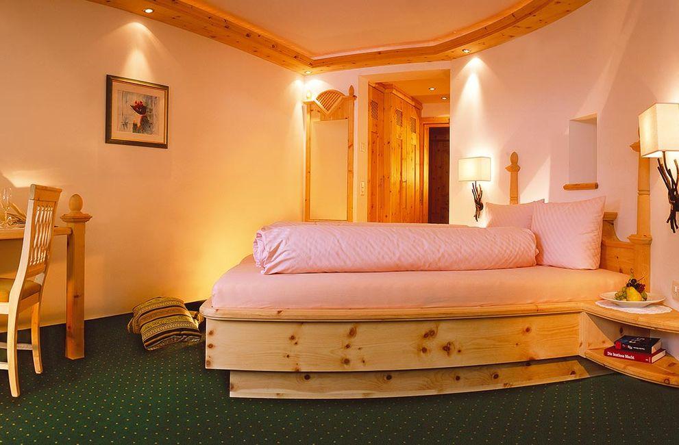 Arvenholz-Zimmer für 2 Personen