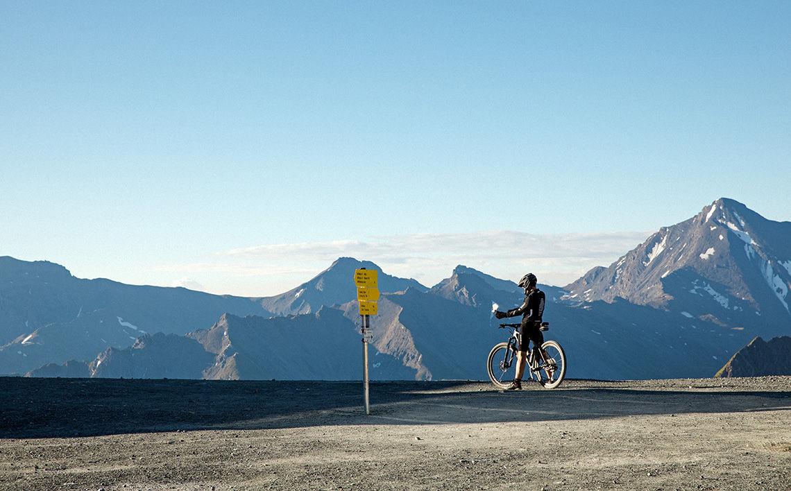 Biken in Samnaun, ©Filip Zuan