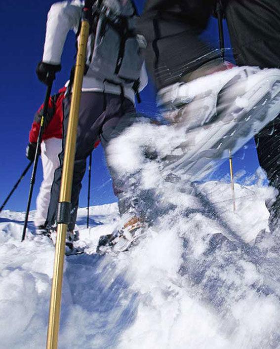 Schneeschuhewandern, © Tourismus Engadin Scuol Samnaun Val Müstair