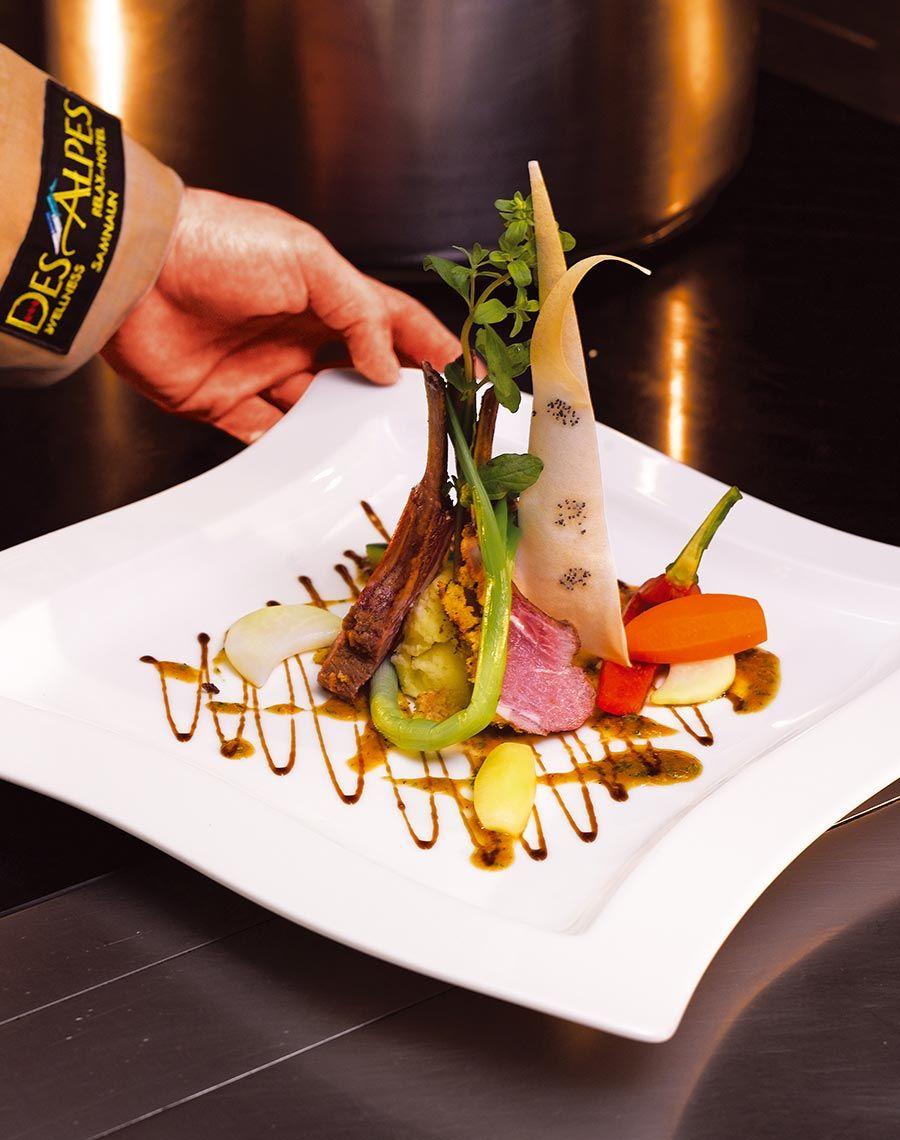 Speisen - Hotel Des Alpes