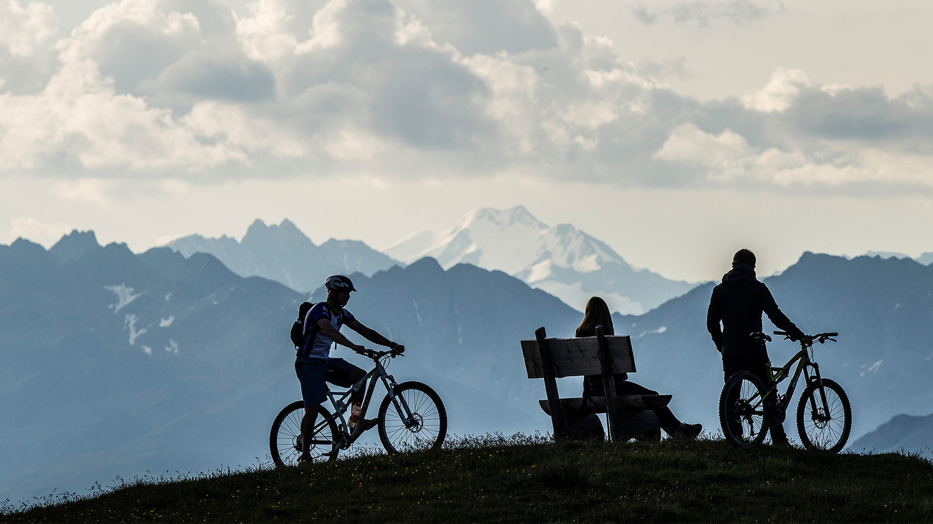 Spektakulär, vielseitig Mountainbike Samnaun/Ischgl