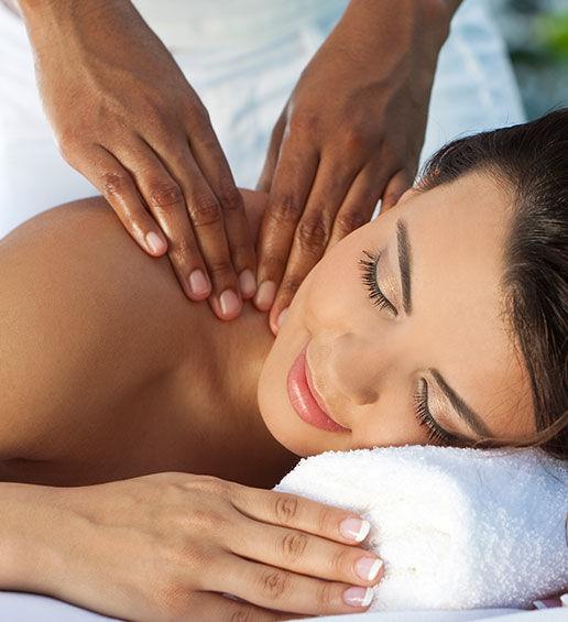 Massage, entspannen relaxen ©Des Alpes