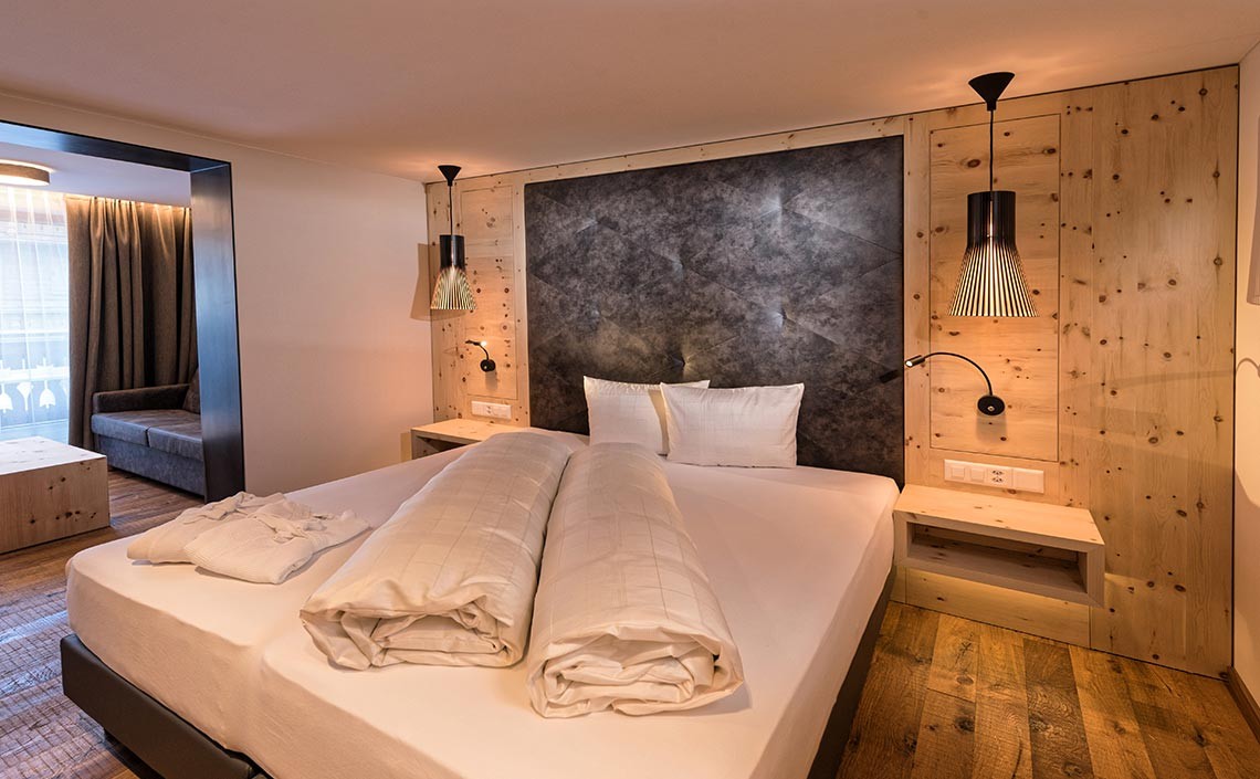 Appartement 104 für 2 - 3 Personen, ©Des Alpes